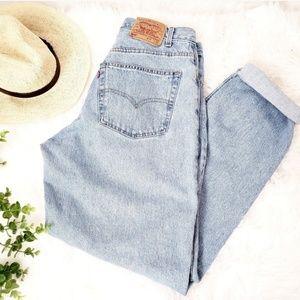 80-90s Vintage Levi's 560 High Rise western Jeans